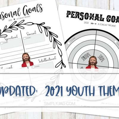 Personal Goals for Children and Youth–Plus Free Printable!