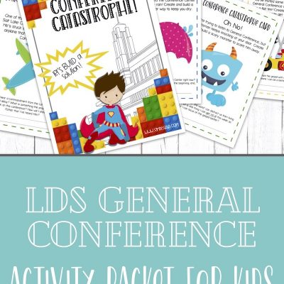 LDS General Conference Activity Packet for Kids