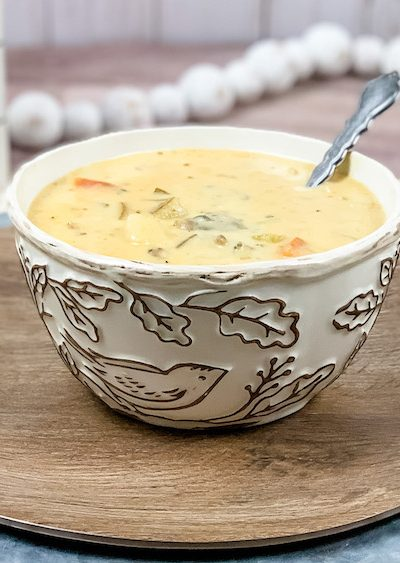 nutritious and wholesome cheeseburger soup