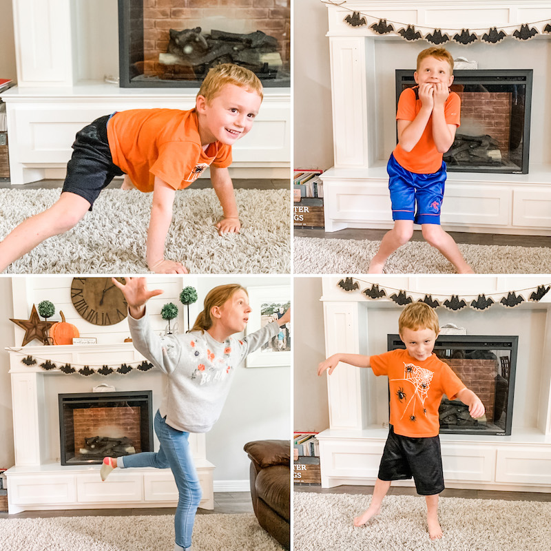 Halloween Charades for family game time