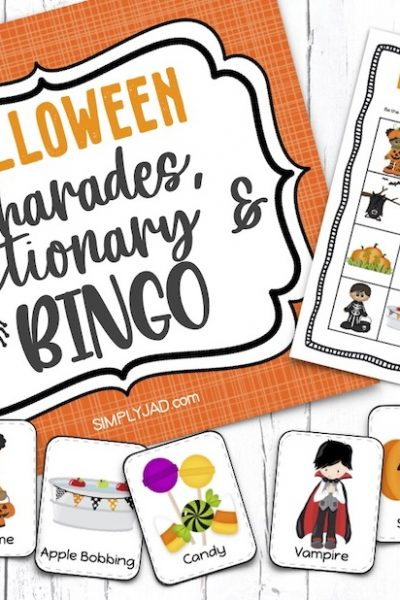 printable halloween games for the whole family to play