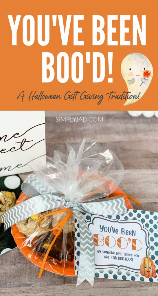 """You've Been Boo'd"" Free Halloween Gift Giving Printable"