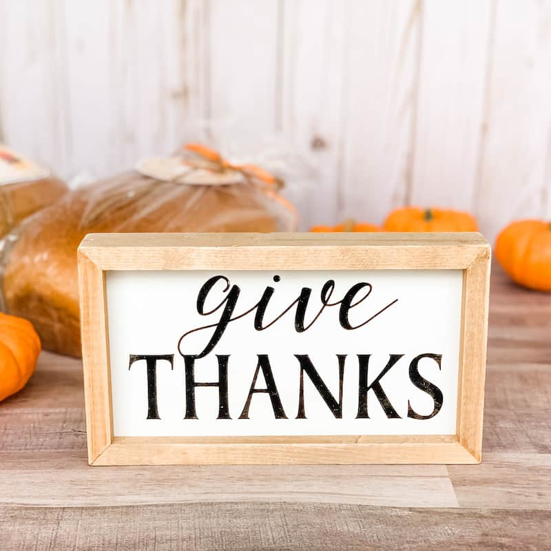Intentionally Giving Thanks at Thanksgiving