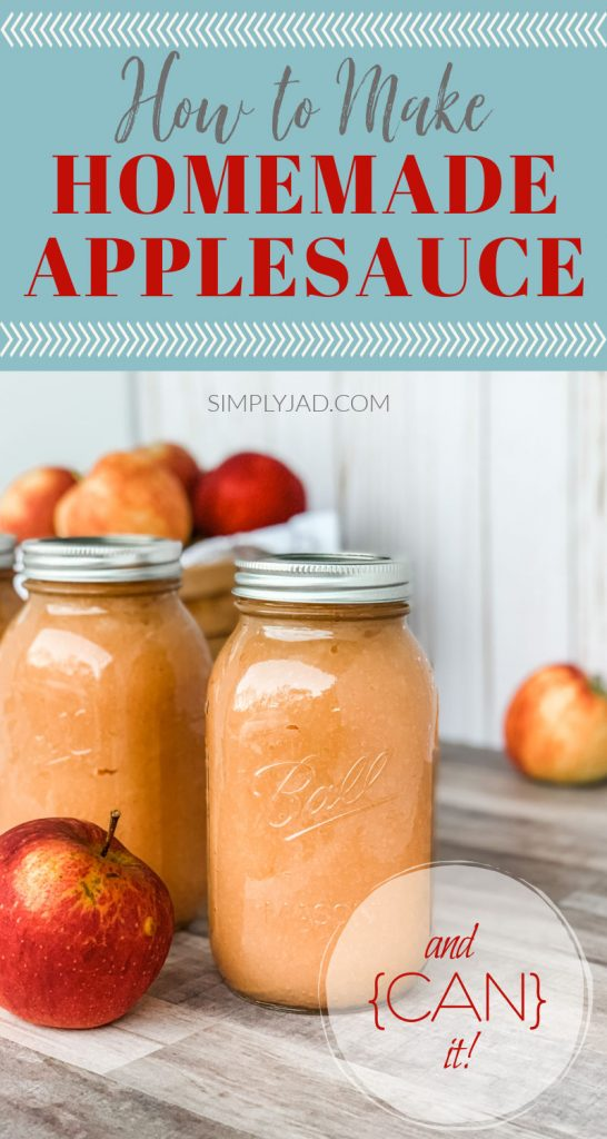 How to make homemade applesauce and can it for later