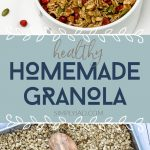 Healthy Homemade Granola for Breakfast