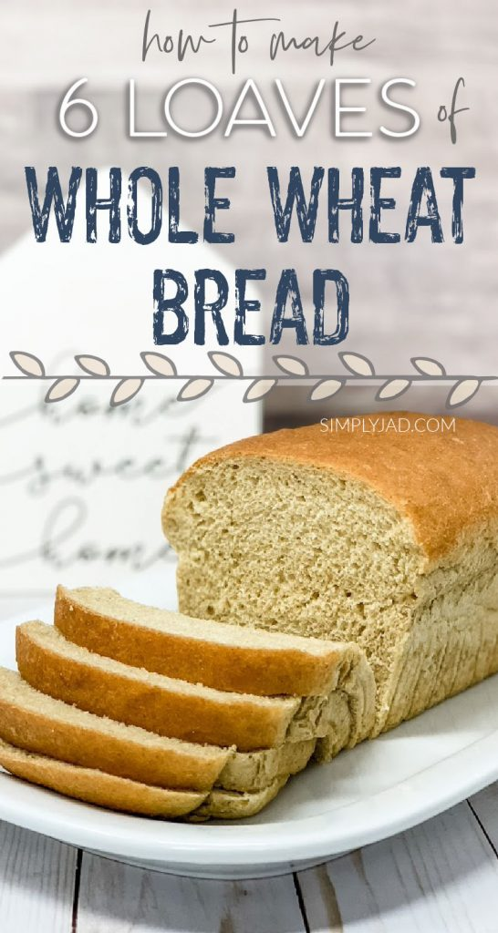 how to make homemade whole wheat bread from scratch